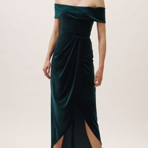 BHLDN Edison Velvet Dress